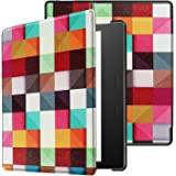All-New Kindle Oasis Case - IVSO Slim Smart Cover Case for Amazon All-New Kindle Oasis 7 inch (9th Generation 2017 Release) (Color 02)