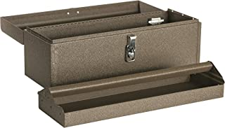 """product image for Kennedy Manufacturing 5220B 20"""" Hand-Carry Tool Box with Tote Tray, Tan Brown Wrinkle"""