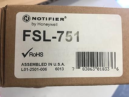 Notificador fsl-751 – inteligente Detector de láser