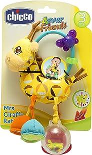 Chocalho Girafa Primeiras Atividades, Chicco, Amarelo