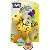 Chicco First Activity Rattle Giraffee Baby Toy, Pack of 1