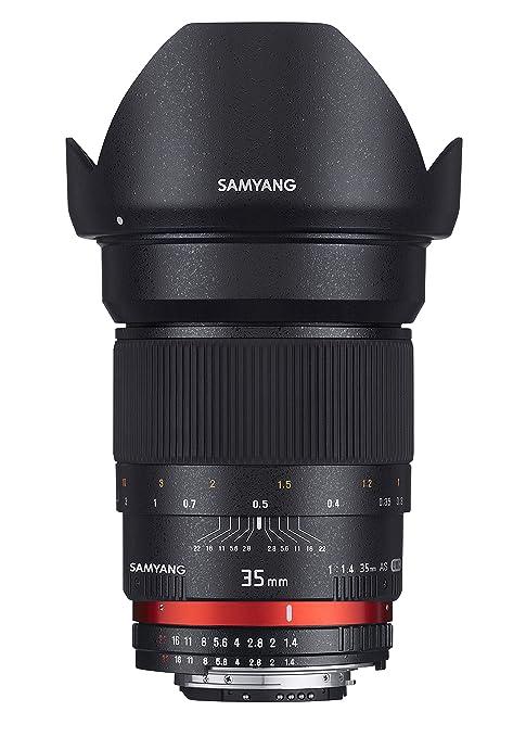 10 opinioni per Samyang Obiettivo 35mm F/1,4 AS UMC per Nikon AE, Nero
