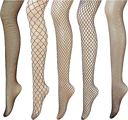 UK STOCK Womens Crystal Rhinestone Fishnet Mesh Socks Stockings Tights Pantyhose