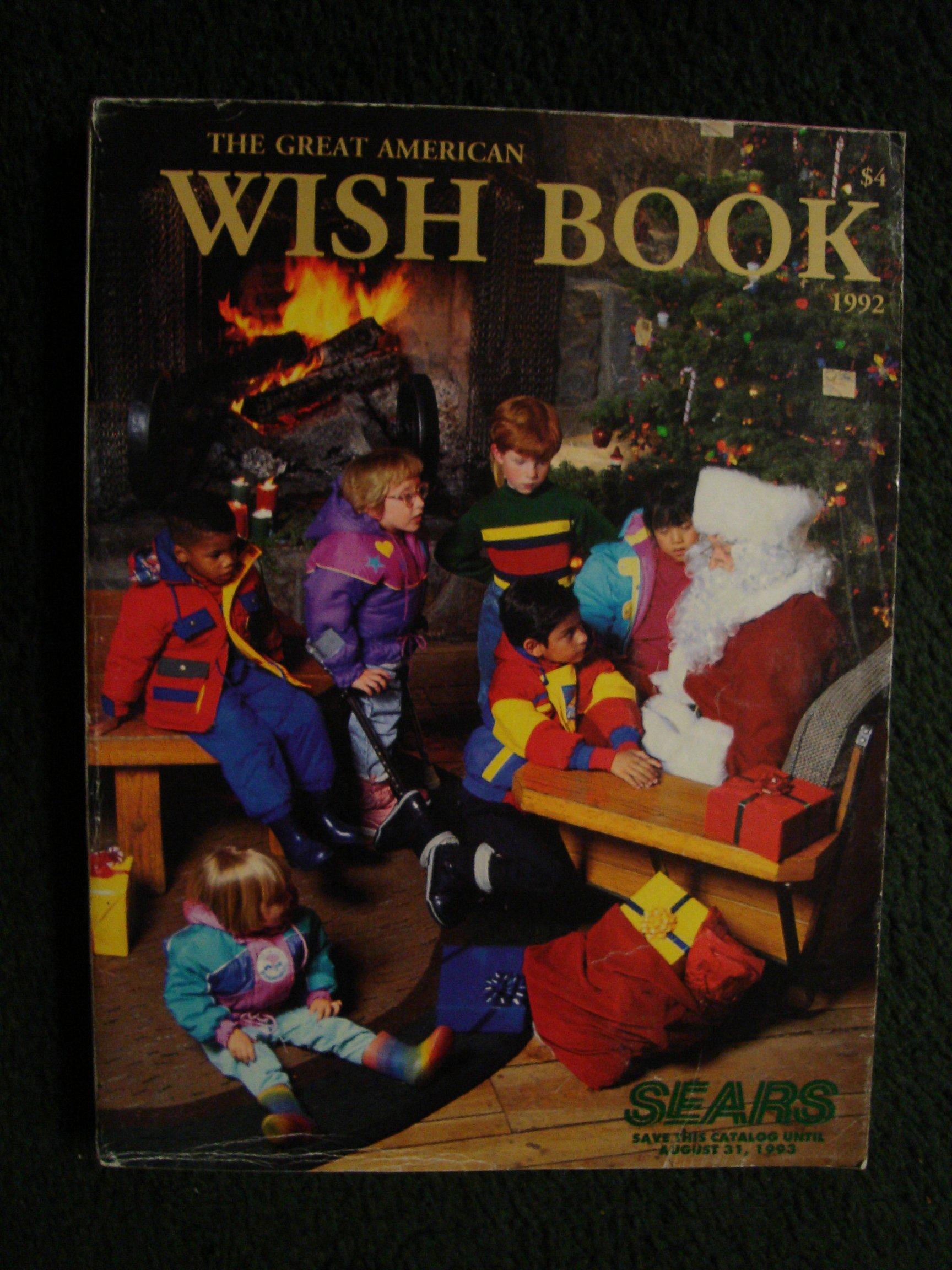 Sears Christmas Wish Book.Sears Wish Book 1992 Sears Amazon Com Books