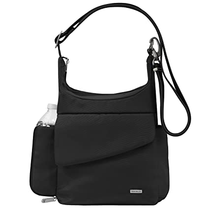 dcd687a6dcf5 Travelon Anti-Theft Classic Messenger Bag, Black, One Size