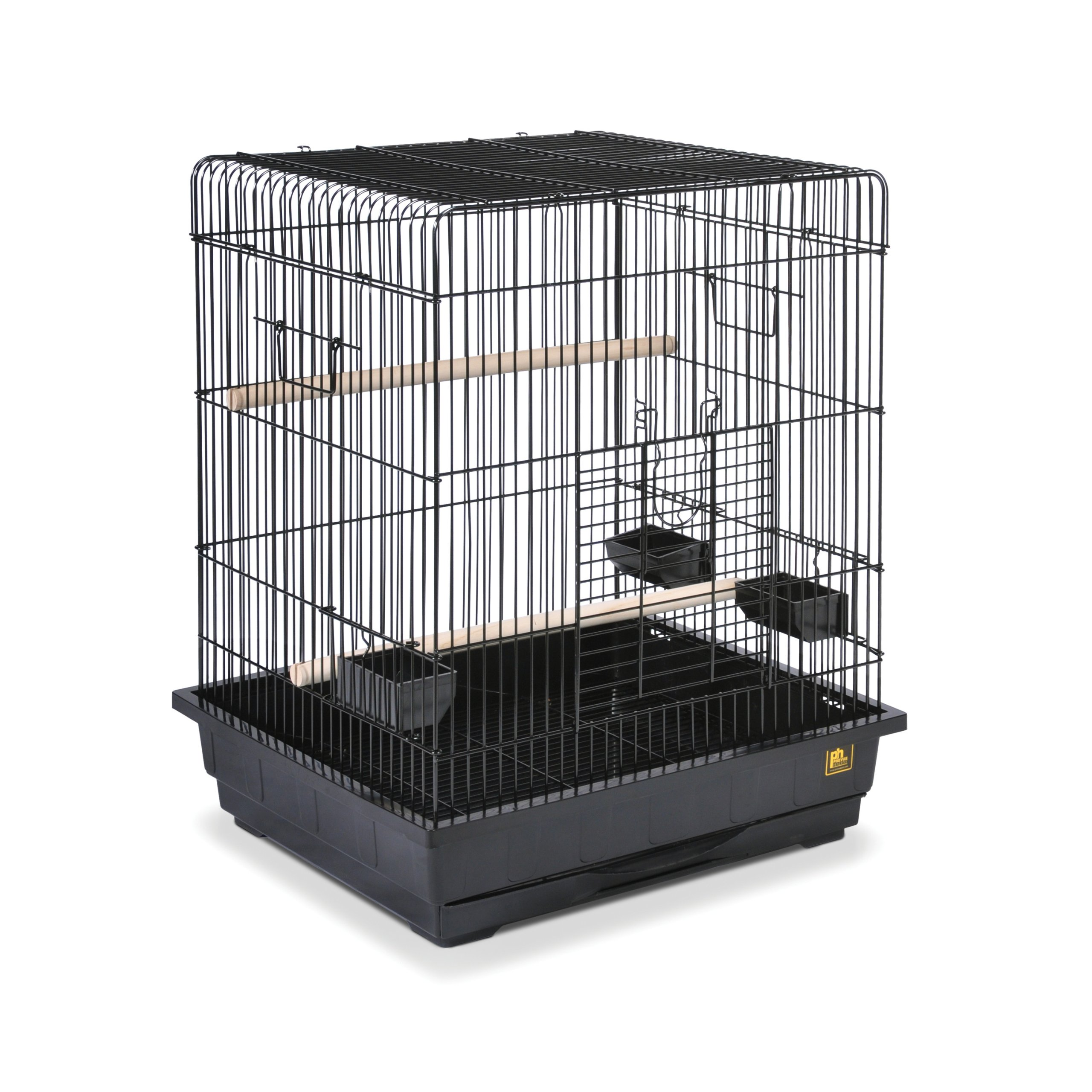 Prevue Pet Products Square Roof Parrot Cage, Black by Prevue Hendryx