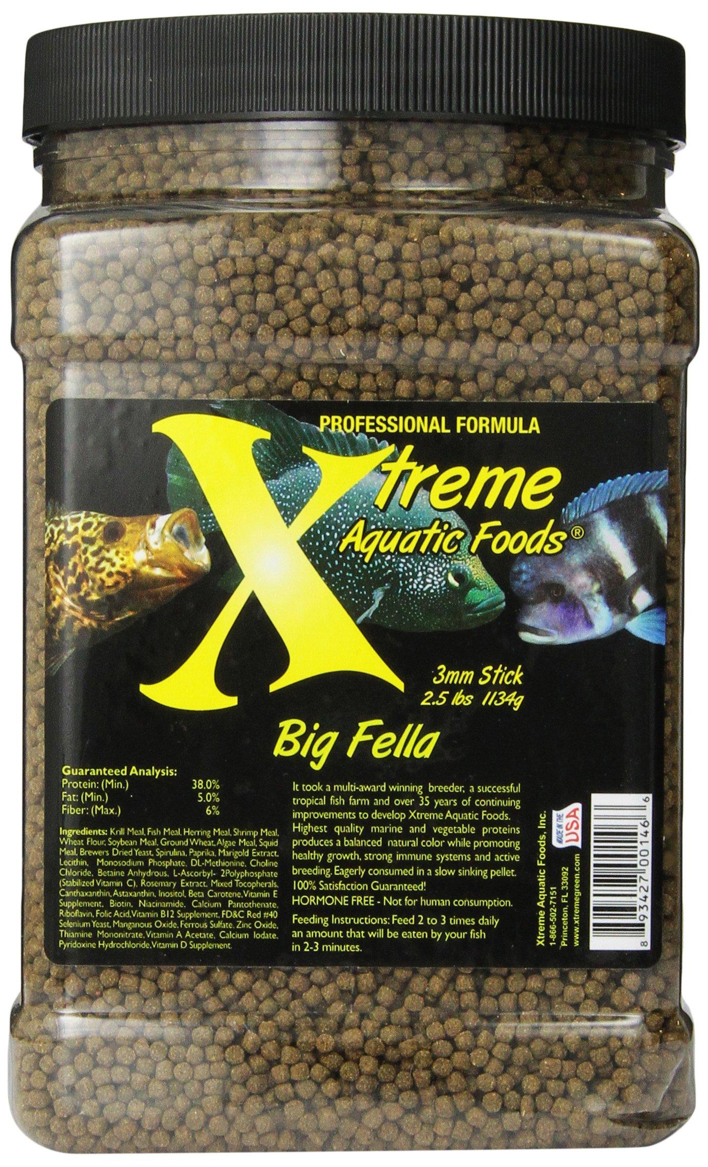 Xtreme Aquatic Foods 2146-F Big Fella Stick Fish Food by Xtreme Aquatic Foods