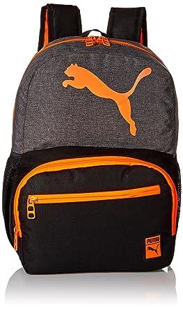 e14107d02605 PUMA Boys Cyclone Jr. Kids Backpack Gray Orange