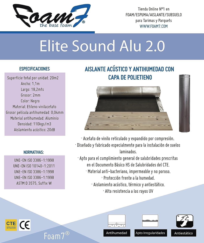 Espuma Aislante Elite Sound 2 0 El Aislamiento Ac Stico Para Su  ~ Mejor Aislante Acustico Paredes