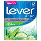 Lever 2000 Bar Soap, Aloe & Cucumber, 4 oz, 12 Bar
