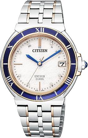 6102bcd12c [シチズン]腕時計 EXCEED エクシード エコ・ドライブ電波時計 ユーロス ペア 限定モデル AS7075