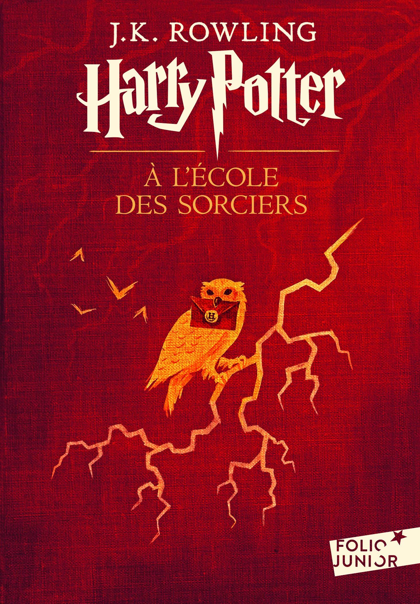 Harry Potter, I:Harry Potter à l'école des sorciers Poche – 12 octobre 2017 J. K. Rowling Jean-François Ménard Folio Junior 2070584623