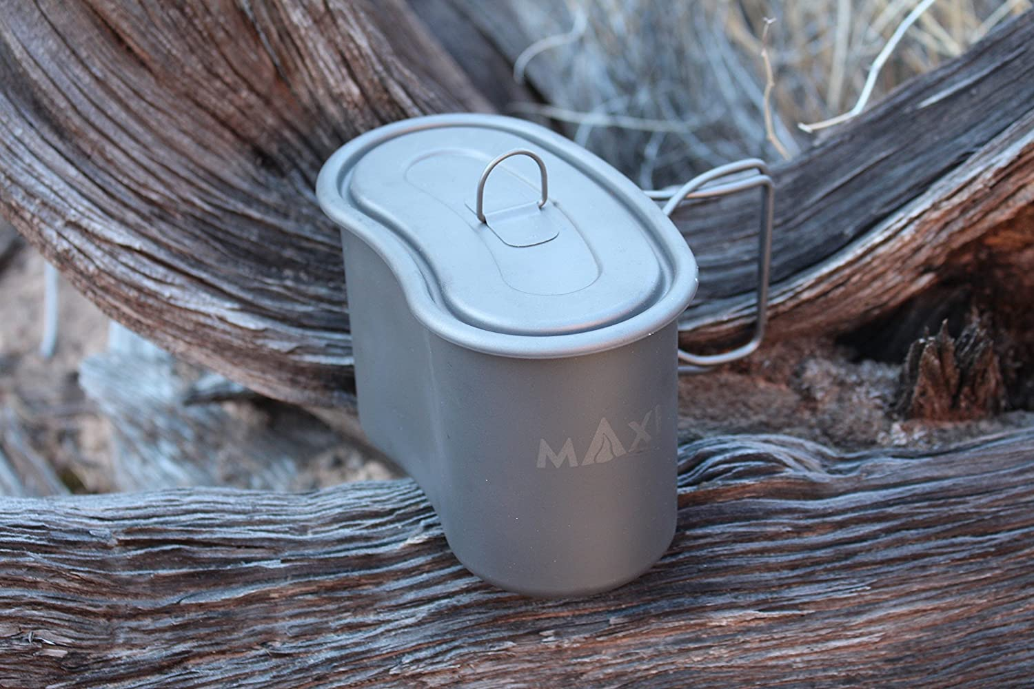 Military Titanium GI Cup // Camping Survival Tactical Ultralight Backpacking Bushcraft