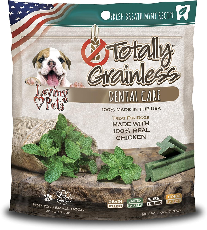 Amazon Com Loving Pets Totally Grainless Fresh Breath Mint