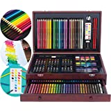 Art 101 142-Piece Wood Art Set Amazon Exclusive
