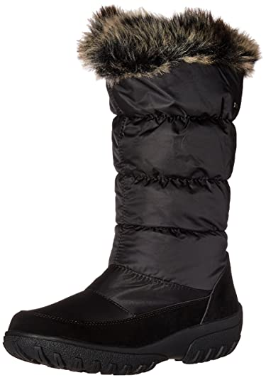 Spring Step Women's Vanish Snow Boot, Black, ...