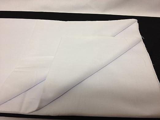 FIM nessel termoadhesiva (Color Blanco, grueso, plástico – Tela termoadhesiva (algodón, Ancho 90 cm, 92 g/m², Meterware: Amazon.es: Hogar