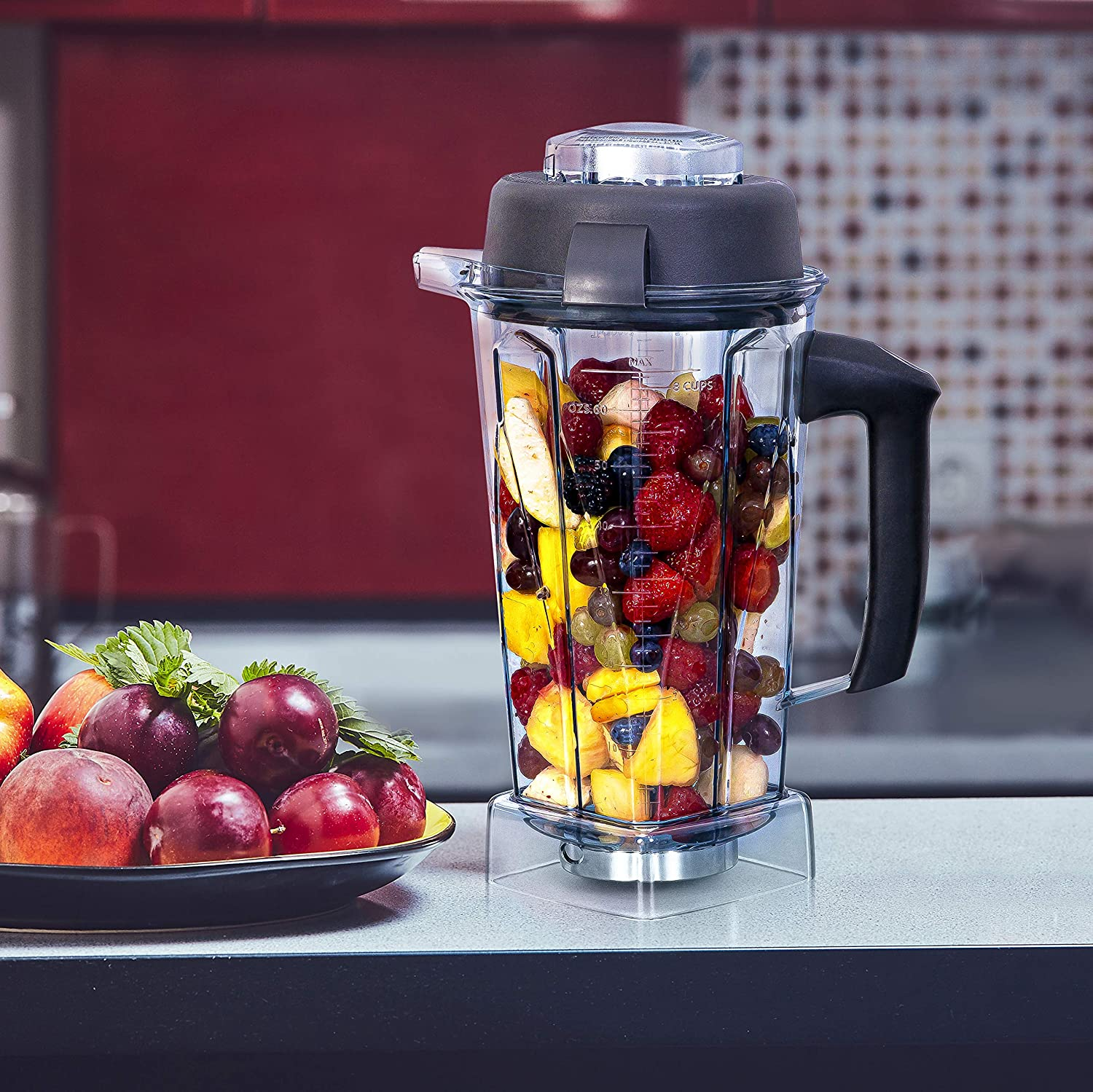 64oz Container Compatible With Vitamix Blender