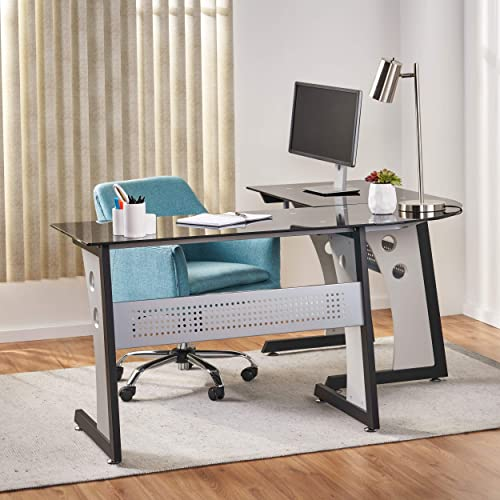Christopher Knight Home Oria L-Shaped Office Desk