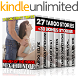 TABOO FIRST TIMES: BIG MEN OF THE HOUSE MEGA BUNDLE 27 Taboo Stories Bundle Box Set + 30 Bonus Stories