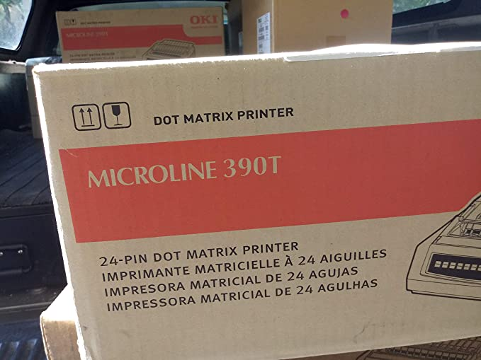 Amazon.com: Oki Data - Oki Microline 390 Turbo Dot Matrix ...
