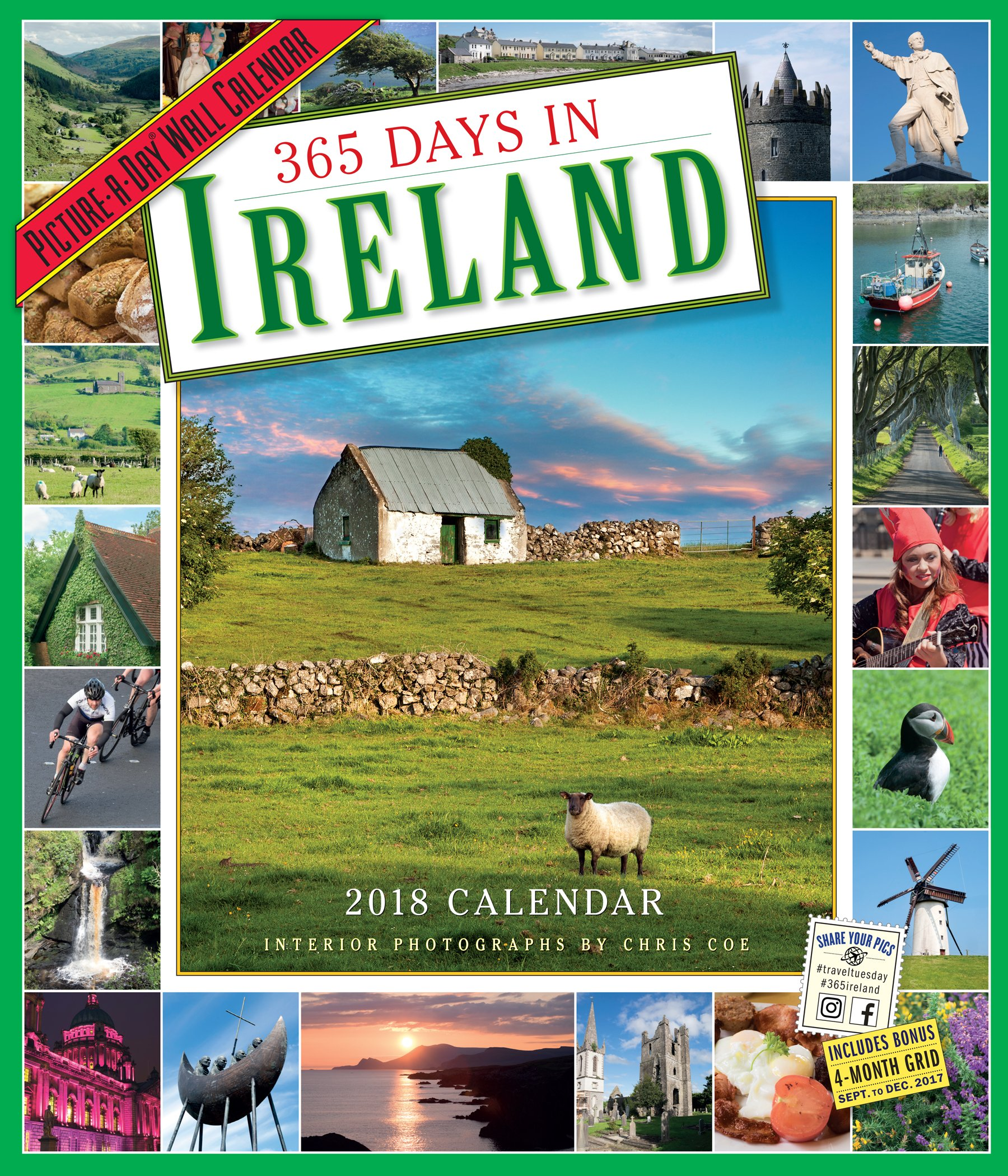 365 days in ireland picture a day wall calendar 2018 chris coe 9780761193821 amazoncom books