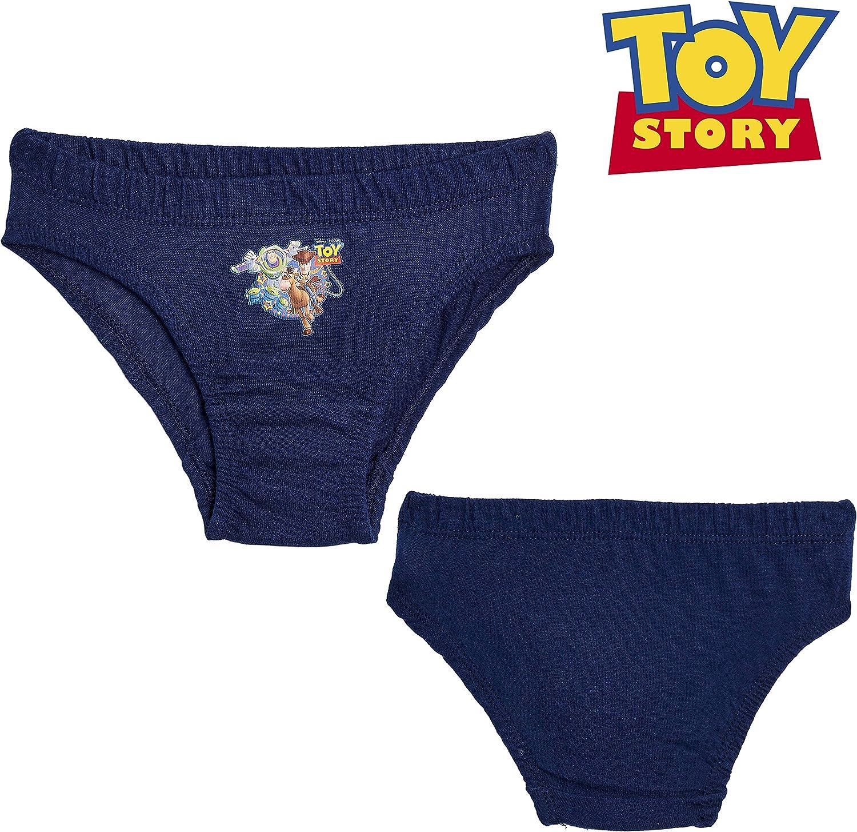 Regalo Compleanno Abbigliamento Bambini 2-6 Anni Disney Toy Story Slip Bambino Confezione da 6 Mutande Boxer Bimbo Intimo 100/% Cotone Set da 6 Mutandine Stampa Personaggi Woody E Buzz