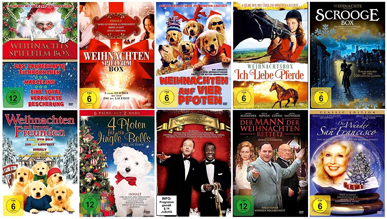 Spielfilme An Weihnachten 2019.Die Große Weihnachten Filme Collection 28 Filme 11 Dvds Amazon De