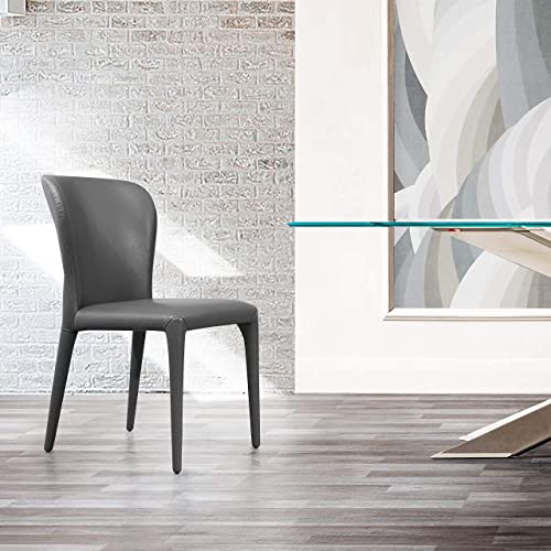 Whiteline Modern Living Hazel Contemporary Dining Chair