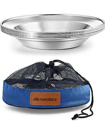 Camping Plates | Amazon com