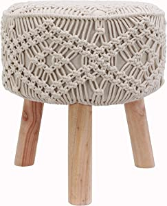 Décor Therapy Stool, Natural