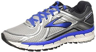 Brooks Adrenaline GTS 16, Unisex-Erwachsene Laufschuhe, Silber (Silver /ElectricBrooksBlue/
