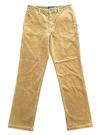 660c150b Amazon.com: RALPH LAUREN Polo Boys Slim Fit Stretch Corduroy Pants ...