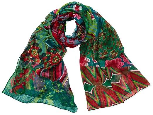Acheter Authentic renommée mondiale magasin d'usine Desigual - Écharpe - Femme: Amazon.fr: Vêtements et accessoires