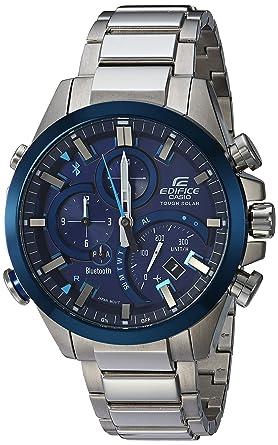 054175e3f549 Amazon.com  Casio Men s Edifice Quartz Watch with Stainless-Steel ...