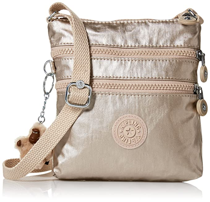 d9aec5608bc84 Kipling Alvar XS Metallic Mini Crossbody Bag