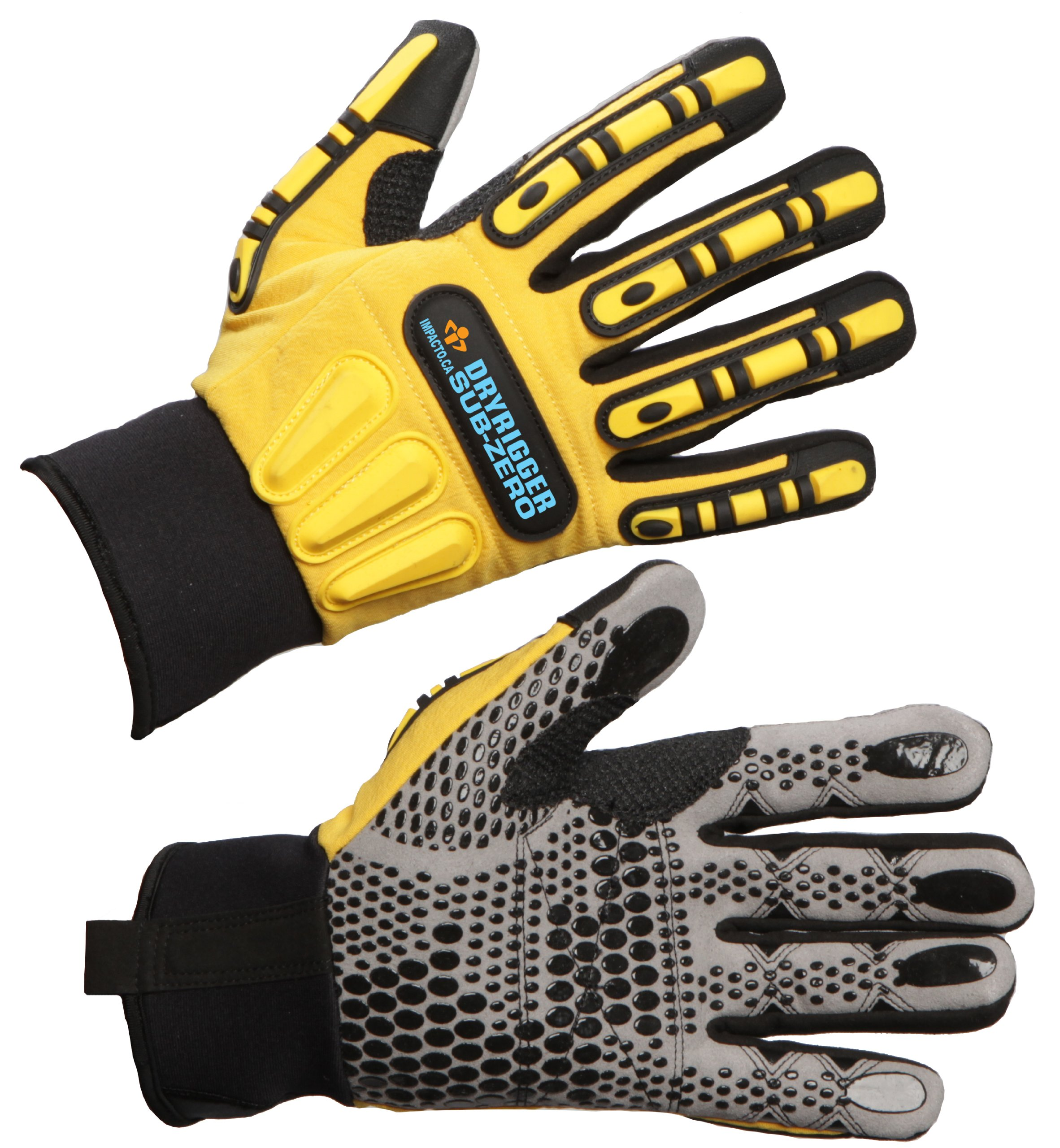 IMPACTO WGWINRIGG XLPR DRYRIGGER Subzero Oil/Water Resistant Glove PR by Impacto Protective Products (Image #1)
