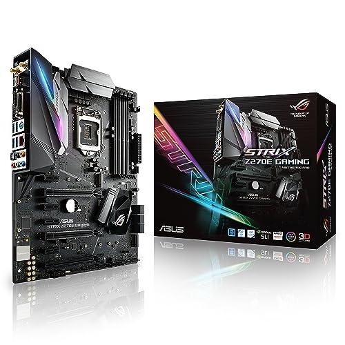 Asus ROG Strix Z270E Gaming Placa Base para Gaming 4 x PCIe 3 0 chipset Z270 LGA 1151 6 x SATA III WiFi HDMI 6 x USB 3 0 Intel HD Graphics DDR4 3866 MHz