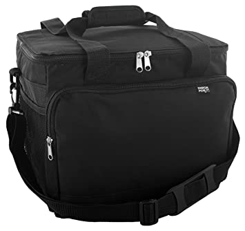 extra large insulated cooler bag black - Insulated Cooler Bags