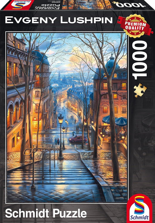 Magische Abendstimmung Evgeny Lushpin 1.000 Teile Puzzle Spiel Deutsch 2017