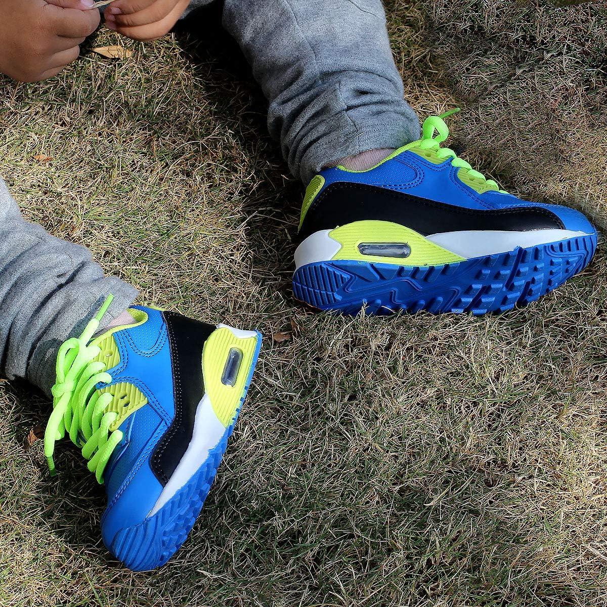 zpllsbratos Chaussures Running Gar/çon Fille 3 ans-12 Ans Sneaker d/école Basket Coussin dair Course Sport Competition Entrainement