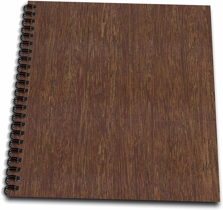 Floreneデザイナーテクスチャ – ダーク竹木製 – Drawing Book 8 by 8-Inch db_41591_1