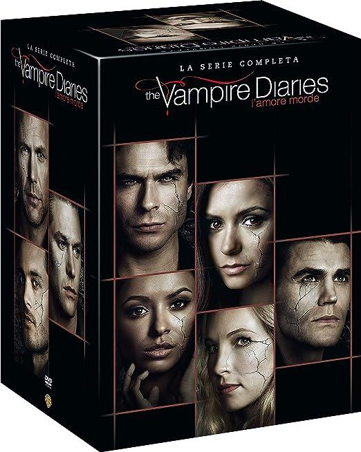 The Vampire Diaries - Serie Completa 38 Dvd Italia: Amazon.es: Nina Dobrev, Ian Somerhalder, Paul Wesley, Nina Dobrev, Ian Somerhalder: Cine y Series TV