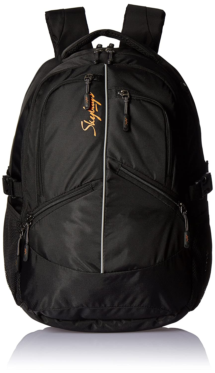 Skybags Crew Nylon 0.326 ltrs Black Laptop Bag (CREW02BLK)  Amazon.in  Bags 681f62828f684