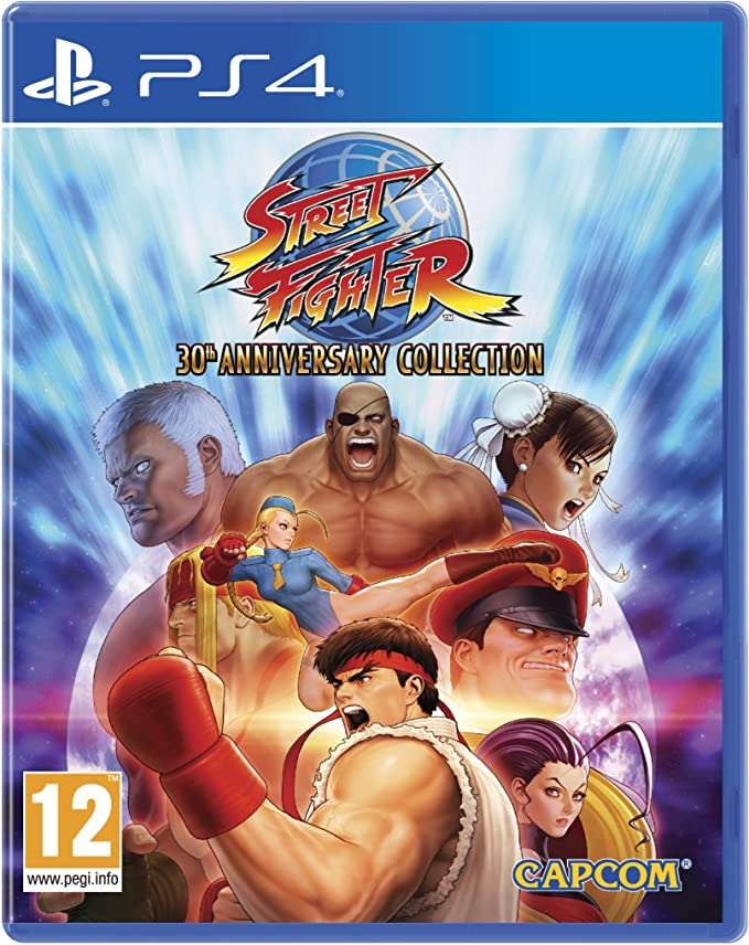 Street Fighter 30th Anniversar Ps4 Amazon Co Uk Pc Video Games