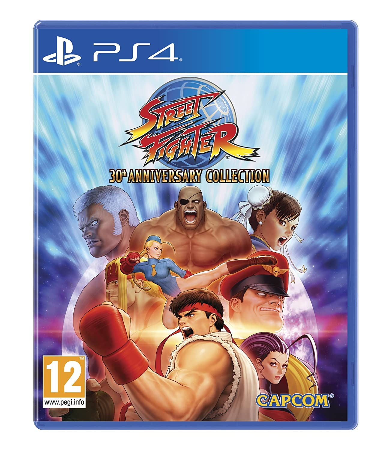 Amazon Com Street Fighter 30th Anniversary Collection Ps4 Video Games