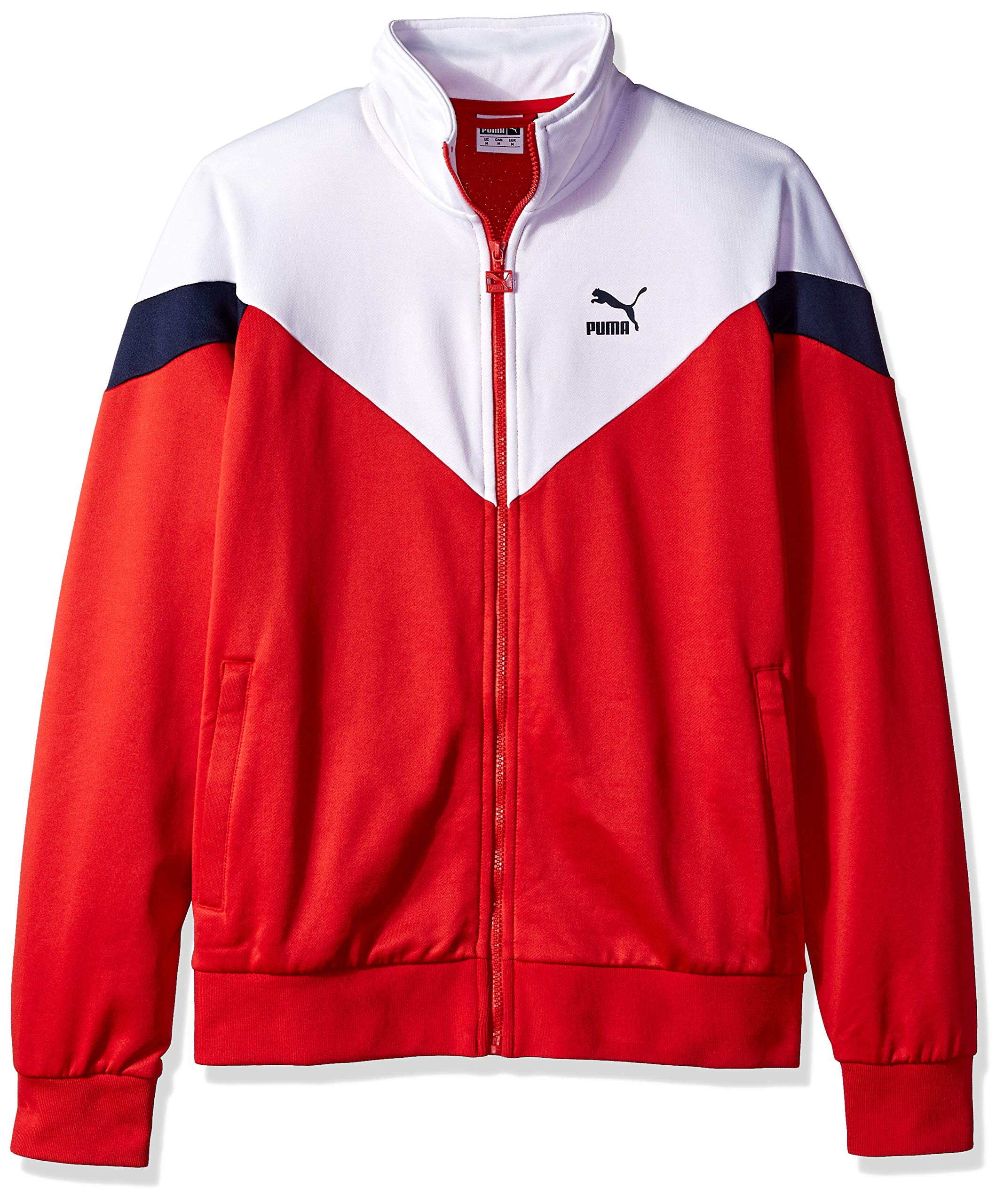 PUMA Men's MCS Track Jacket, high Risk red, X-Large by PUMA