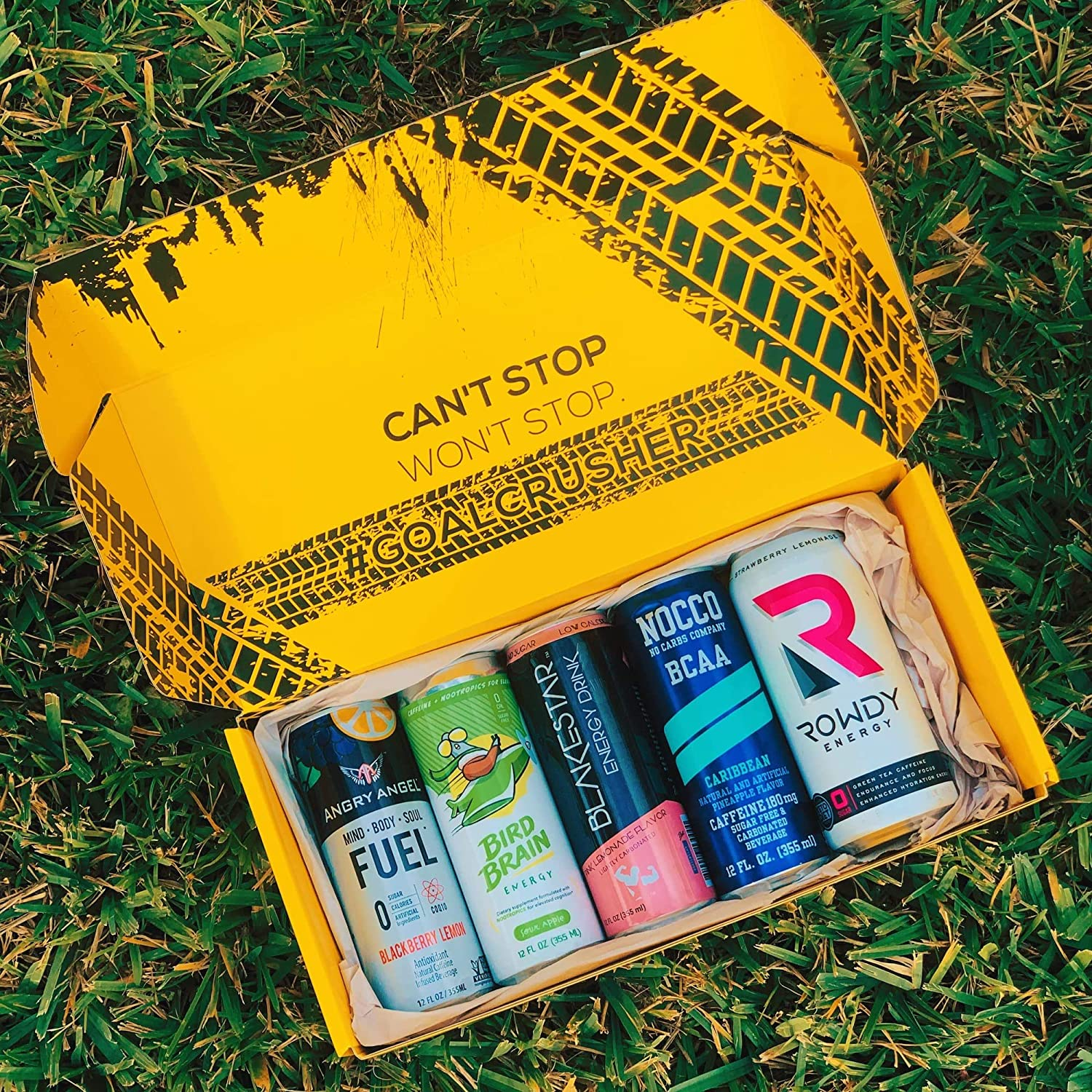 Zero Pack - Top Rated Zero Sugar Energy Drink and Consumables Subscription Box - Monthly