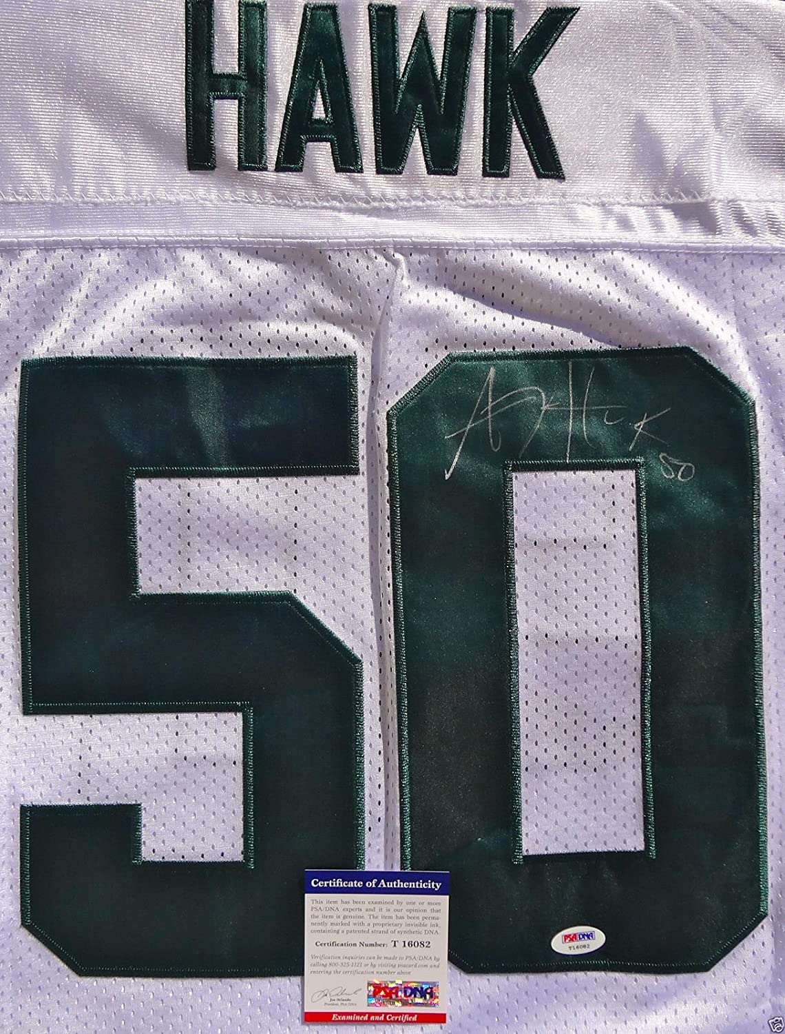 super popular ad32e fd451 well-wreapped AJ HAWK SIGNED GREEN BAY PACKERS JERSEY ...