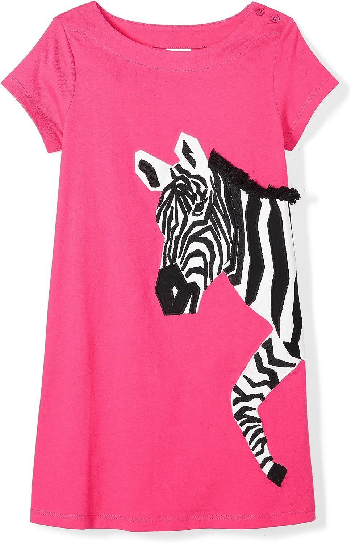 Amazon Brand - Spotted Zebra Girls Knit Short-Sleeve T-Shirt Dresses